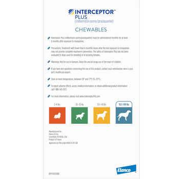 Interceptor Plus 12pk Brown 2-8 lbs
