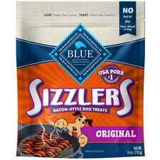 Blue Buffalo BLUE™ Sizzlers Natural, Bacon-Style Dog Treats-product-tile