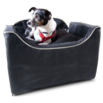 Snoozer Luxury Lookout I Pet Car Seat - Small Black/herringbone product detail number 1.0