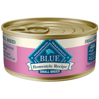 Blue Buffalo Homestyle Recipe Small Breed Canned Dog Food Chicken 24-5.5 oz cans product detail number 1.0
