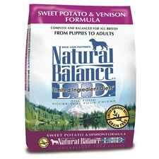Natural Balance L.I.D. Limited Ingredient Diets Sweet Potato & Venison Formula 13 lb-product-tile