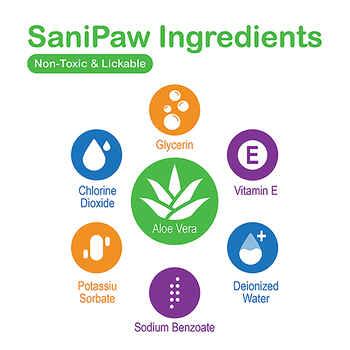 PawZ SaniPaw Daily Paw Wipes