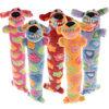 Multipet Loofa Pink Ribbon Dog Toy