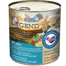 Forza10 Nutraceutic Legend Puppy Icelandic Salmon & Lamb Recipe Grain-Free Canned Dog Food-product-tile