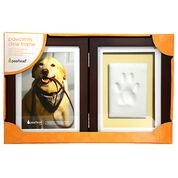 Pearhead Pawprints Keepsake Frame Hinged Desk Frame
