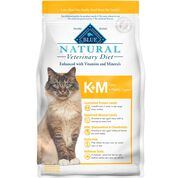 BLUE Natural Veterinary Diet K+M Kidney + Mobility Support Dry Cat Food-product-tile