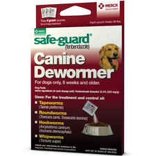 Safe-Guard Canine Dewormer Three 4 Gram Packages-product-tile