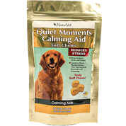 NaturVet Quiet Moments Calming Aid Soft Chews for Stress