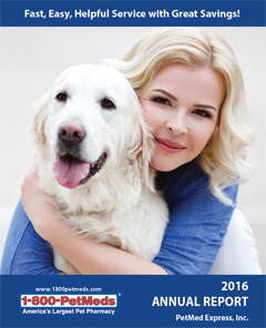 2016 PetMeds Annual Report
