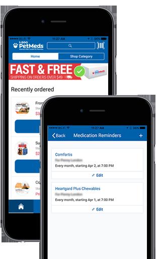 1-800-PetMeds Mobile App