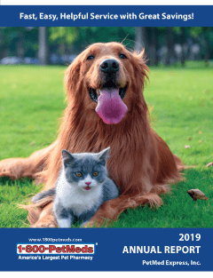 2019 PetMeds Annual Report