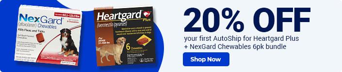 NexGard + Heartgard Plus 6-pack bundle