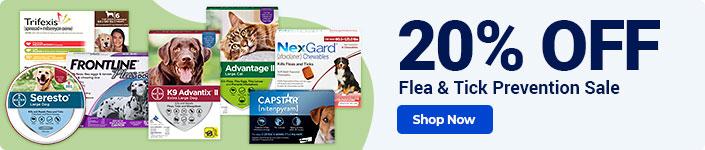 Flea & Tick Prevention Sale