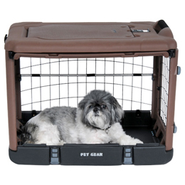 The Super Dog Crate Lite Usage