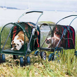 Kittywalk SUV Pet Stroller Usage