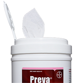 Preva Medicated Wipes Usage