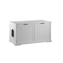 Cat Litter Box Cover and Cabinet Usage