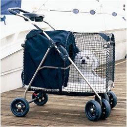 Kittywalk Fifth Avenue Pet Stroller Usage