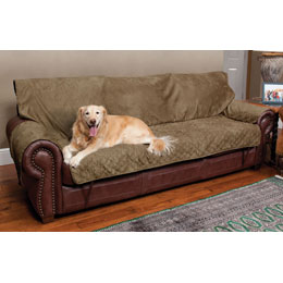 Solvit Sta-Put Full-Coverage Pet Sofa Protector Usage