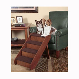 PetSafe PupSTEP Wood Pet Stairs Usage