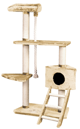 Whisker World Cat Tree Condo Usage
