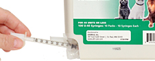 U-40 Syringes for ProZinc & Vetsulin Insulin Usage