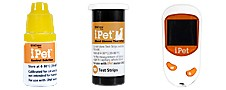 iPet Glucose Monitoring Kit For Dogs and Cats Usage