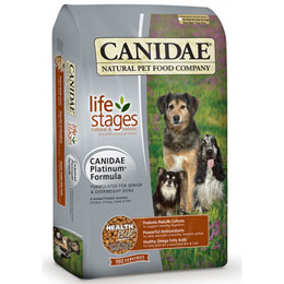 Canidae Platinum Seniors & Overweight Dog Dry Food Usage