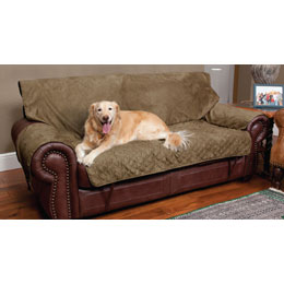 Solvit Sta-Put Full-Coverage Pet Loveseat Protector Usage