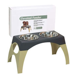 Stormcloud Elevated Dog Feeder Usage